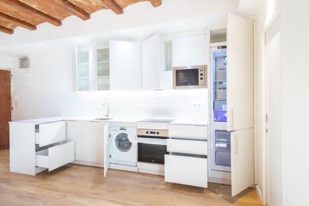 capacidad almacenaje cocina