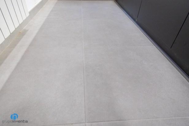 suelo gris cocina