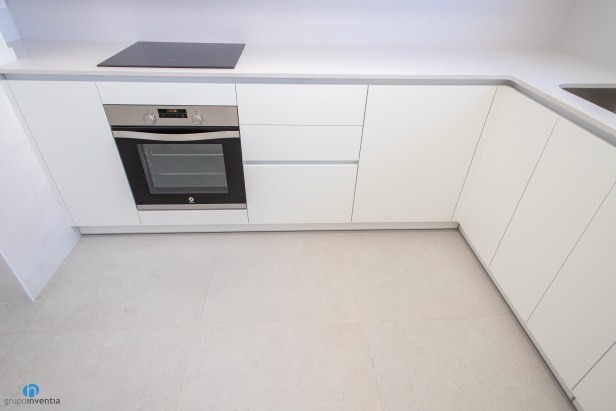 suelo beige cocina