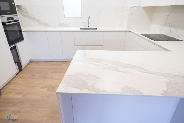 encimera marmol cocina