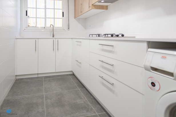 cajones color blanco cocina