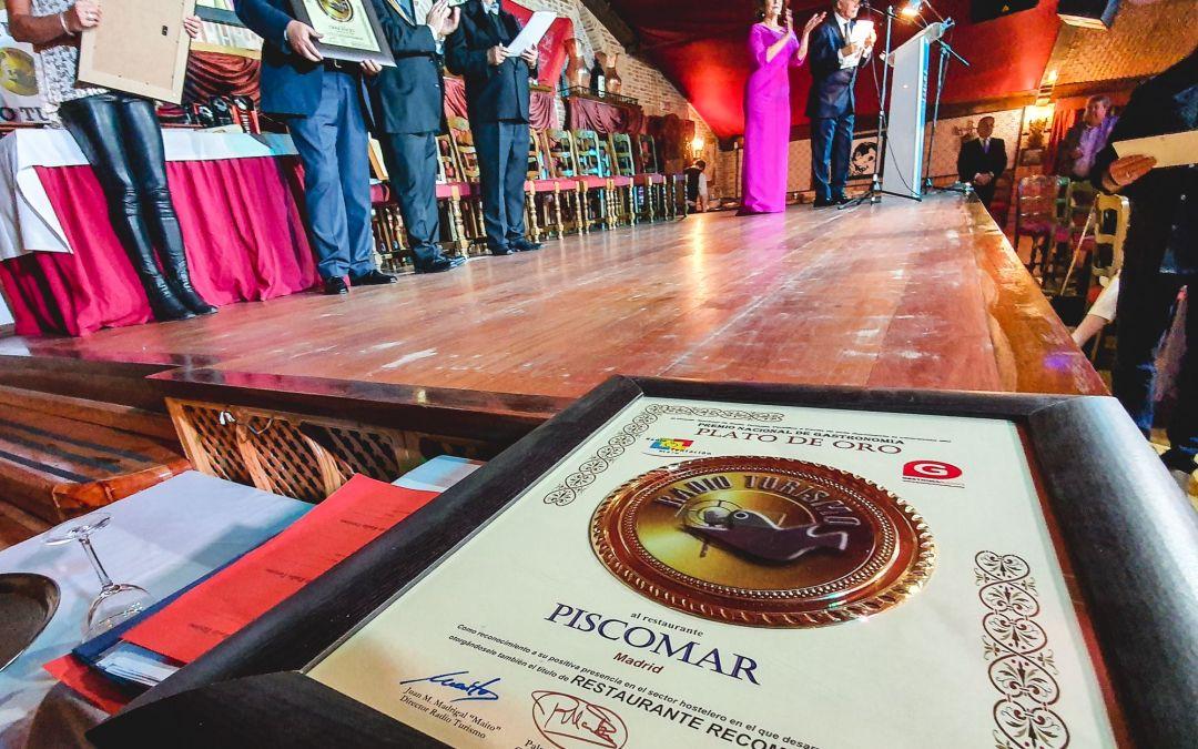 Cena de Gala Premiación Radio Turismo en Madrid 2019