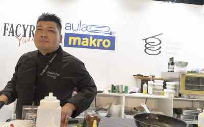 Presentación gastronómica peruana en AULA MAKRO