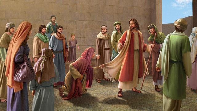 Jesus-Healing-the-Bleeding-Woman-matthew-9-18-22