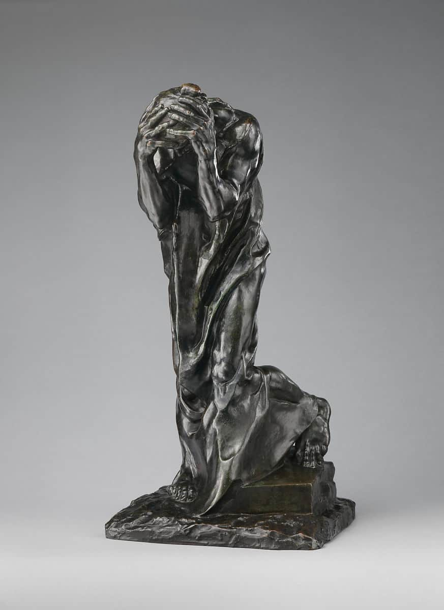 The Weeping Burgher (Andrieu d'Andres),modeled 1885, cast ca. 1908–9 Auguste Rodin French