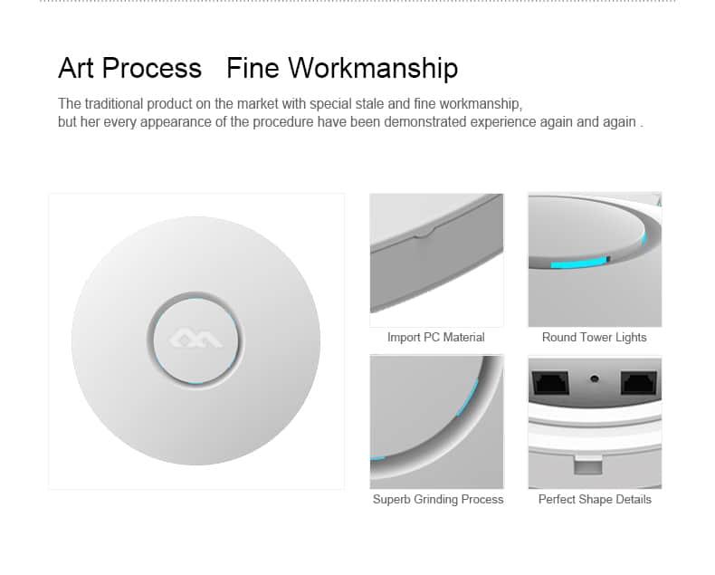 Comfast CF-E330N art process