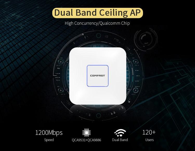 CF-E355AC V2 Dual Band Ceiling AP