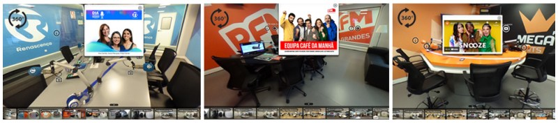 visita virtual Grupo Renascença Multimedia