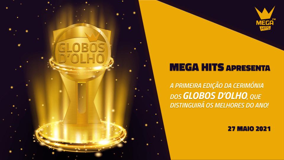 mega hits prémios globos d'olho