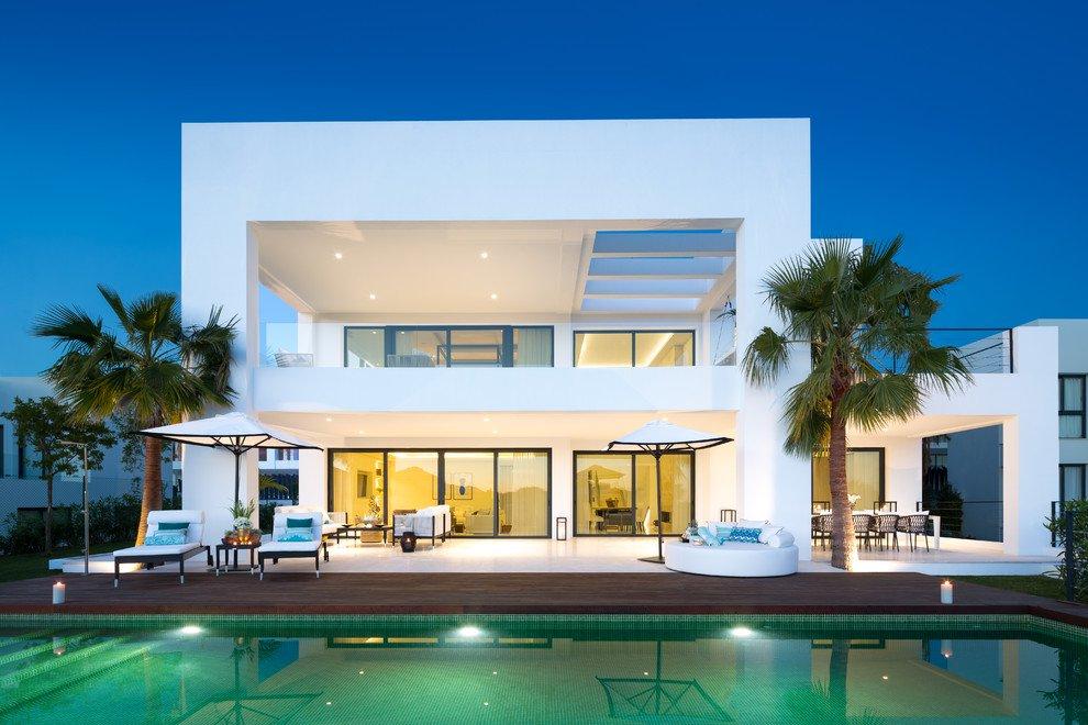 18 dise os de casas contempor neas tremendas de las que se for Decoracion de casas contemporaneas