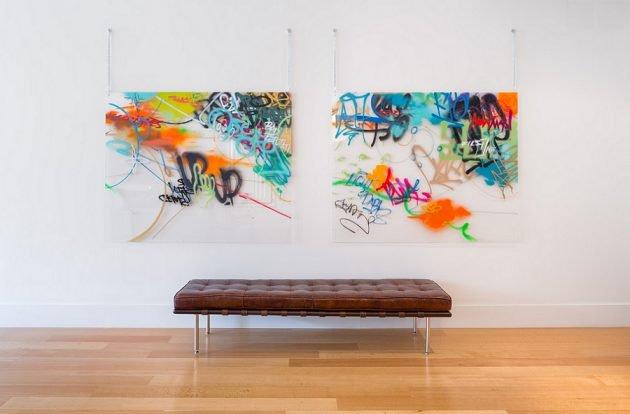 Guía para colocar correctamente las piezas de arte en la pared
