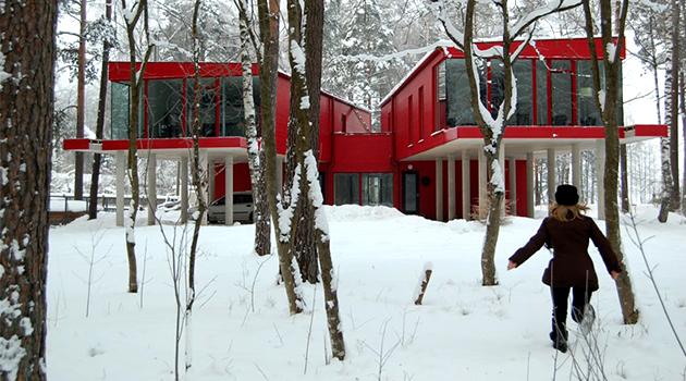 Casa de 2 hermanas por NRJA en Riga, Letonia