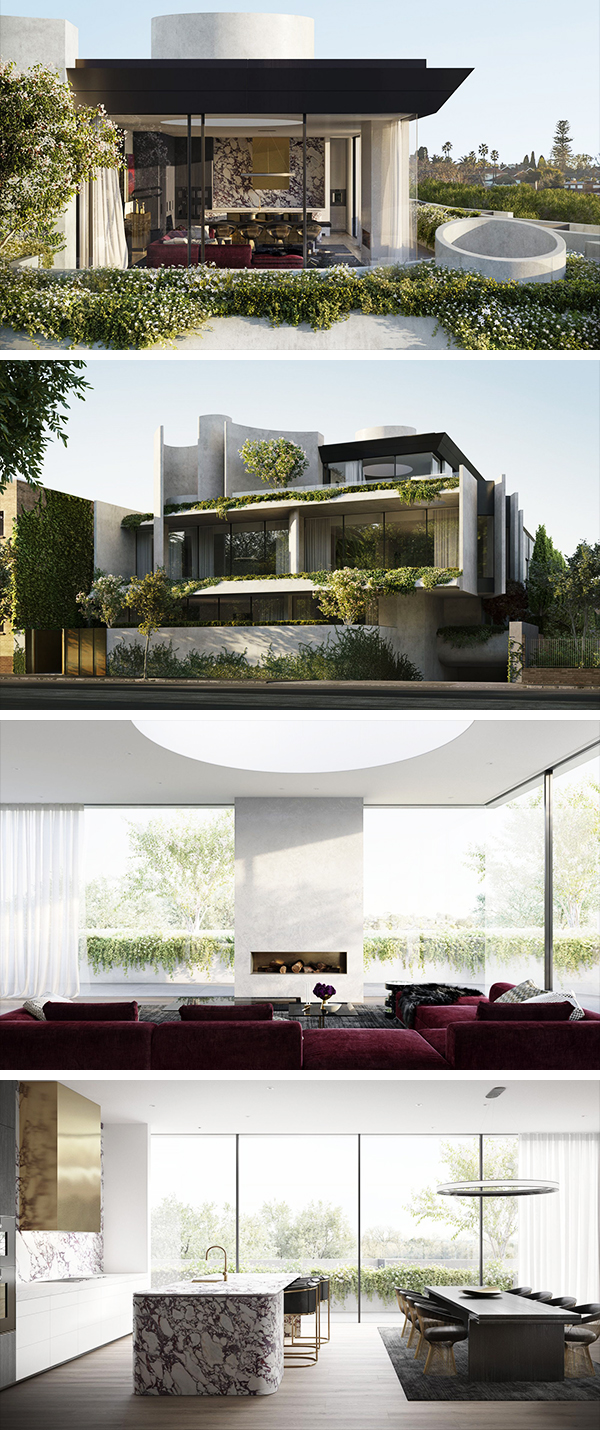 Casa Fawkner por Rob Mills Architecture en South Yarra, Melbourne