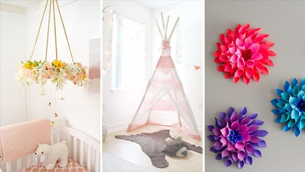 16 hermosos proyectos de decoración de guardería de bricolaje para tus bebés