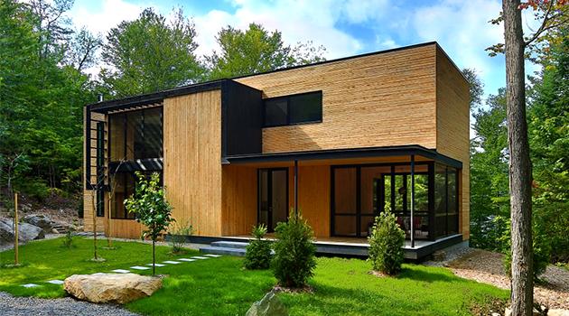 La Chasse-Galerie Home de Thellend Fortin Architectes en Montreal, Canadá