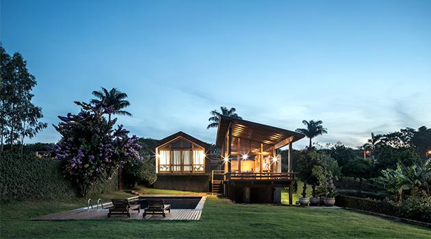 Lake House por Solo Arquitetos en el sur de Brasil
