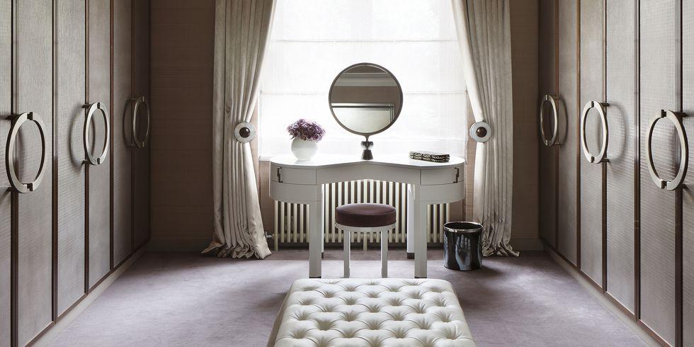 10 ideas de tocador de dormitorio glamoroso que querrás tener