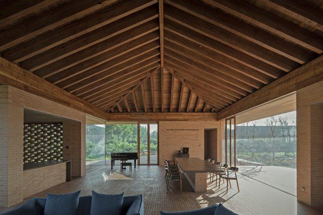Villa Courtyard de ARCHSTUDIO en Tangshan, China