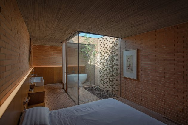 Villa Courtyard de ARCHSTUDIO en Tangshan, China