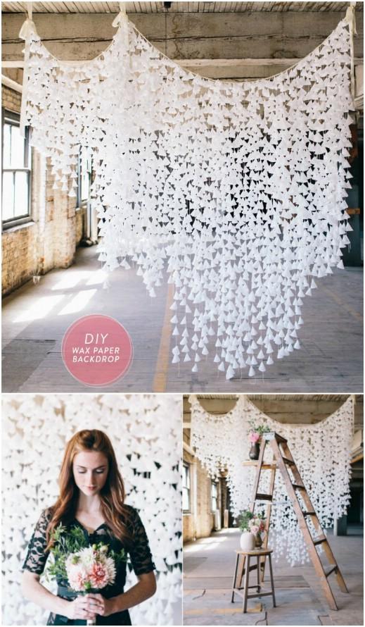15 ideas de decoración de boda caprichosas de bricolaje para una fiesta de boda rústica