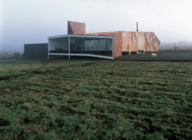 Copper House 2 por Smiljan Radic en Talca, Chile