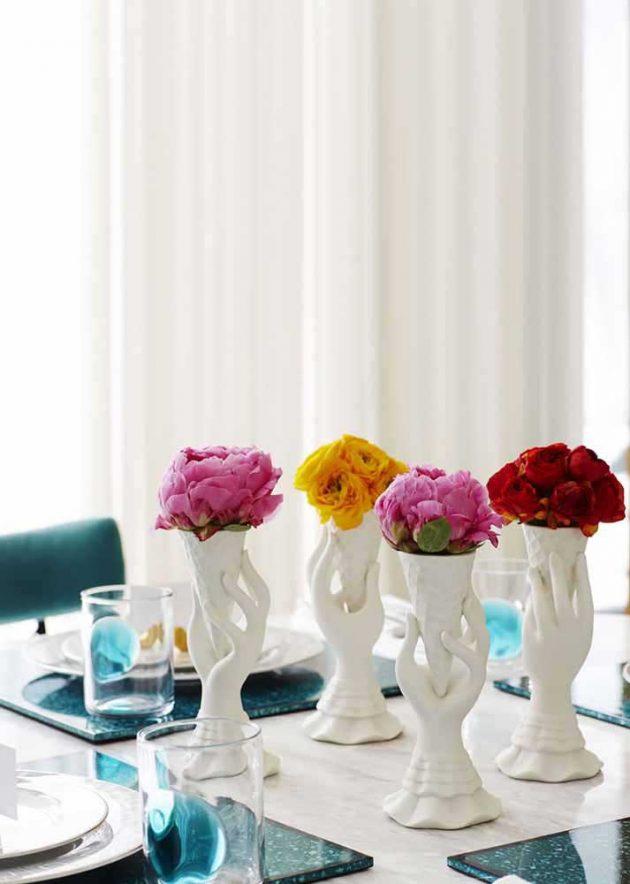 9 modelos de jarrones reciclados de los que te enamorarás