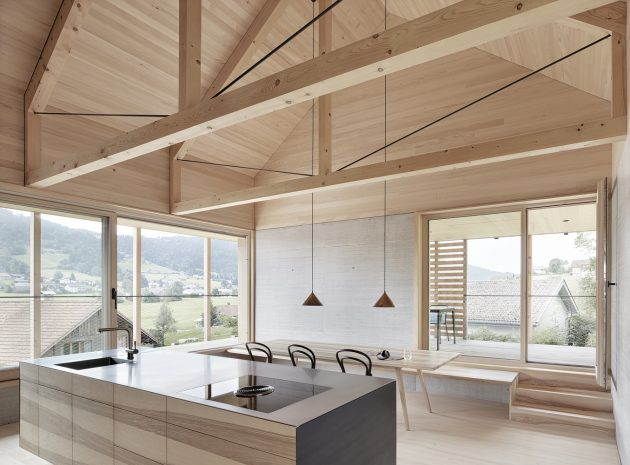 Casa Höller por Innauer Matt Architekten en Alberschwende, Austira