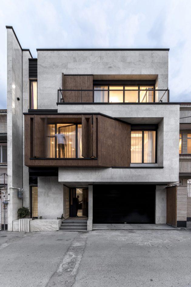 Parnian House por White Cube Atelier en Maku, Irán