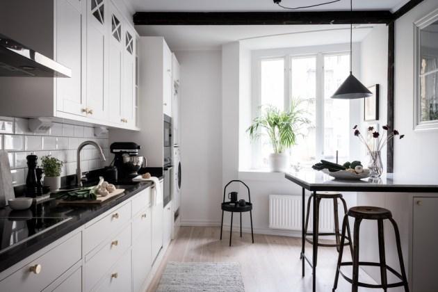 18 diseños minimalistas de cocina escandinava que alegrarán tu día
