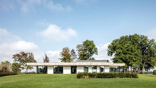 Casa H por Chris Collaris Architects en Ontario, Canadá
