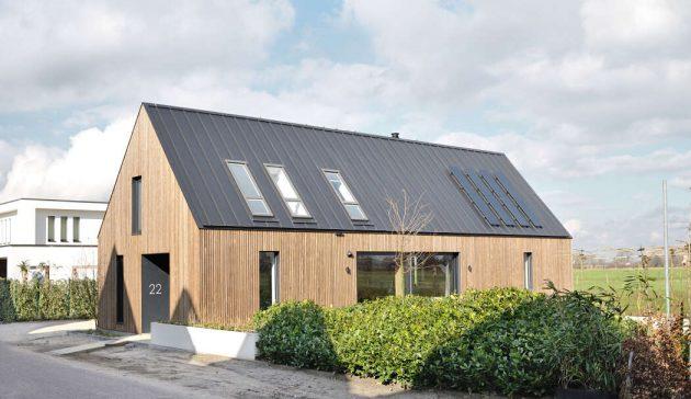 Longhouse de Studio PLS Architects en Amersfoort, Países Bajos