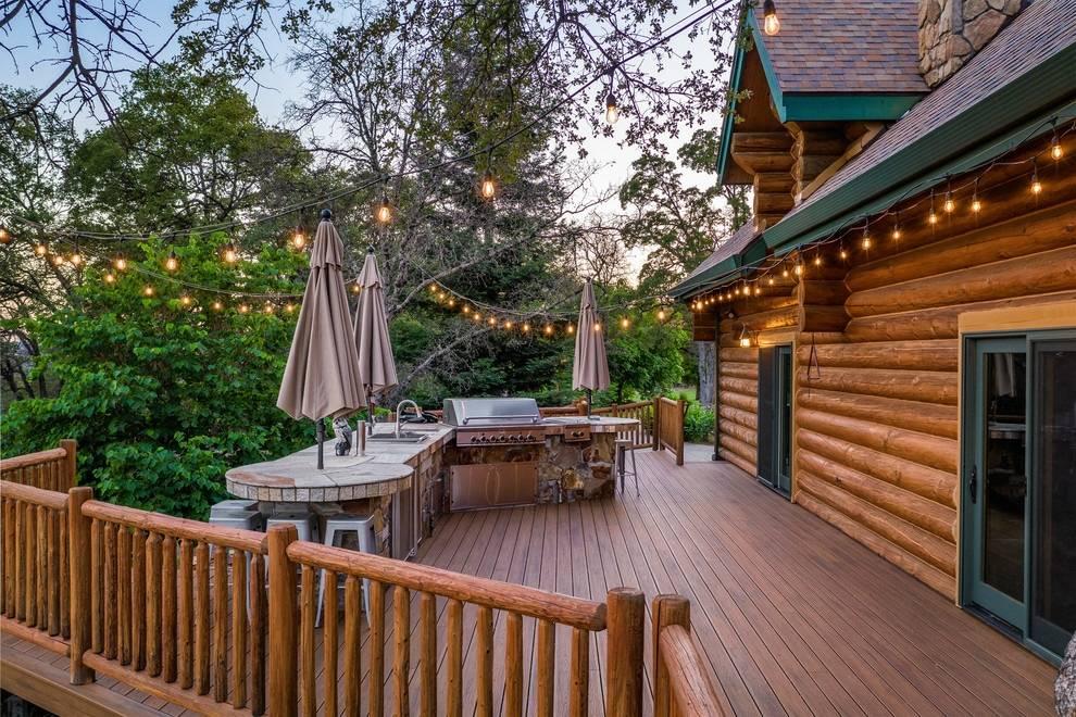 20 diseños fenomenales de cubiertas rústicas para sus espacios al aire libre