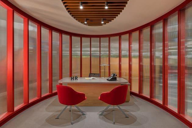 Sede de Ofisi de gasolina por Lagranja Design en Estambul, Turquía