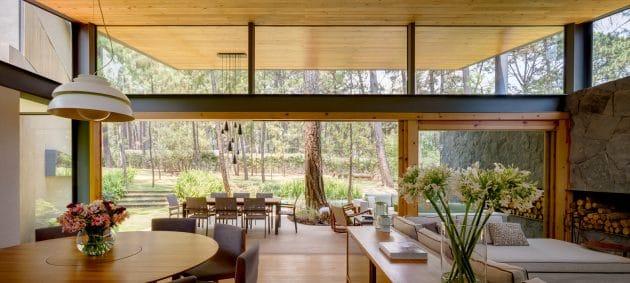Cinco casas de Weber Arquitectos en Valle de Bravo, México