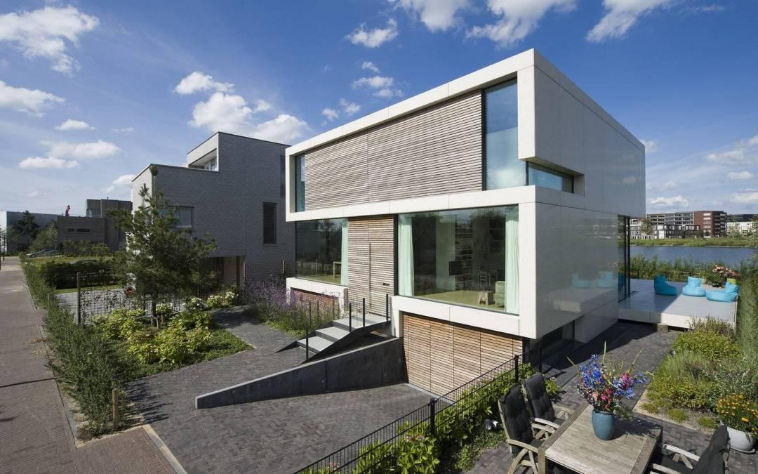 Villa S2 por MARC Architects en Amsterdam, Países Bajos