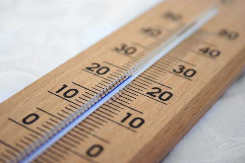 La temperatura de confort en invierno
