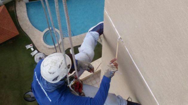Tratamiento de juntas de muro y losa