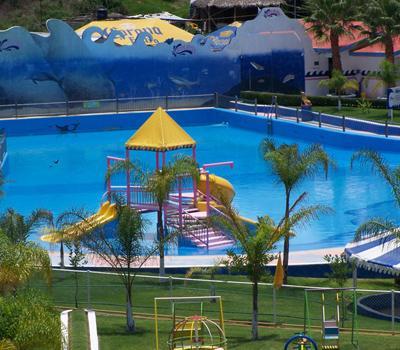 Parque acutico Splash Len  Balneario con toboganes