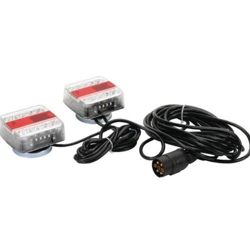 Set luci LED 12V magnetico, cavo 7,5m