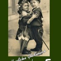 5. Jubiläum: Karten, Einladungen, Dankeskarten