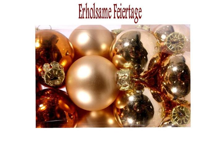 Weihnachtsgrüße und Neujahrswünsche 2010