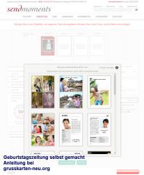 Geburtstagszeitung - Anleitung