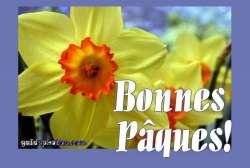 kostenlose Osterkarten auf Französisch
