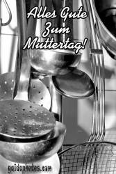 Muttertagskarte Küche