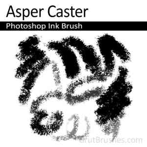 'Asper Caster' Photoshop Ink Brush for digital artists