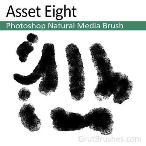 Photoshop Natural Media Brush 'Asset Eight'