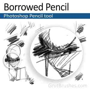 Realistic Photoshop Pencil tool