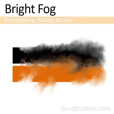 Photoshop mixer brush - Bright Fog (Photoshop blender tool)