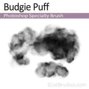 Photoshop Specialty brush 'Budgie Puff'