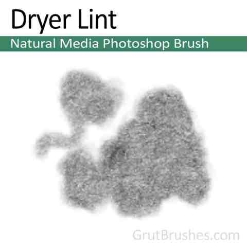 Dryer-Lint-Natural-Media-Photoshop-Brush